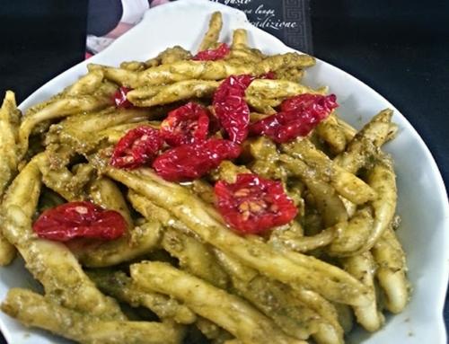 Pesto rucola e pomodori