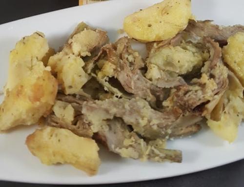 Padellata carciofi e patate